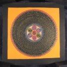 Mixed Gold Ohm Mana Pad Mi Hum Mandala Thangka Thanka painting Nepal Art
