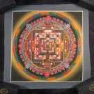 Mixed Gold Kalachakra Thangka Thanka Painting Nepal Himalayan Art A2