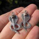 925 Silver Snake cobra Earrings Earring jewelry Nepal himalayan art