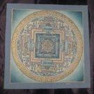24 K Gold Original Signed Babulal Viswa Vajra Thangka Thanka painting Nepal Art