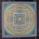 24 K Gold Original Signed Kale Ohm Thangka Thanka painting Nepal Art A2