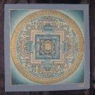 24 K Gold Original Signed Kale Ohm Thangka Thanka painting Nepal Art A2