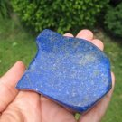 Afghanistan Deep Blue Lapis Lazul Lazuli Crystal stone rock chunk mineral A7