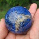 Blue Afghanistan Lapis Lazul Lazuli Crystal Ball  A4