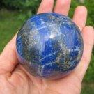 Blue Afghanistan Lapis Lazul Lazuli Crystal Ball  A2