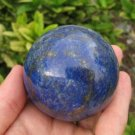 Blue Afghanistan Lapis Lazul Lazuli Crystal stone mineral Ball  A10