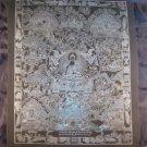 Pure Silver Shakyamuni Buddha Thangka Thanka Painting Nepal Himalayan Art A2