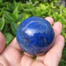 Blue Afghanistan Lapis Lazul Lazuli Crystal stone mineral Ball  A9