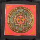 Mixed Gold Viswa Vajra  Mandala Thangka Thanka painting Nepal Himalayan art