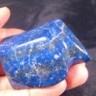 Afghanistan Deep Blue Lapis Lazul Lazuli Crystal stone rock chunk mineral A5