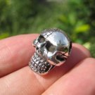 925 Sterling Silver Skull pendant necklace jewelry art Thailand A5
