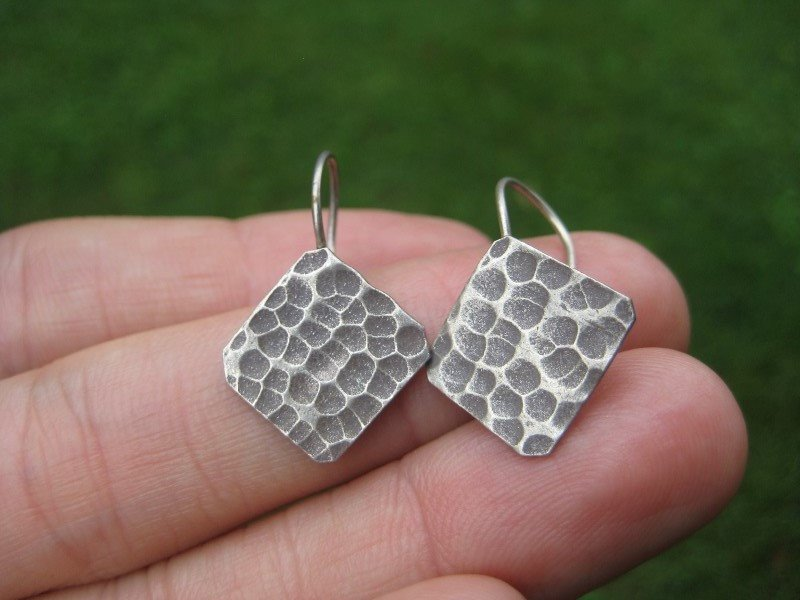 925 to 999 pure Silver earrings earring jewelry art thailand hill tribe A10
