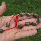 Natural Jade stone Bead Bracelet Thailand jewelry art A32