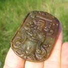 Natural agate Carnelian Onyx chinese Old man ruesi monk stone pendant amulet A29