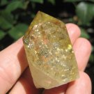 Citrine Quartz crystal point mineral  specimen stone art A35