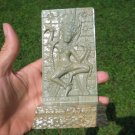 Apsara Apsala God Natural Green Marble Carving Cambodia stone carving A17