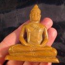 Natural Jade Shakyamuni Buddha stone rock mineral  Carving Art A9