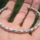 999 to 970 fine silver hill tribe bangle bracelet Thailand jewelry art A97