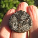 old Ancient Roman Empire bronze Kushan Coin Afghanistan  ( about 2000 years )