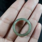 Natural  Grade A  Jadiete  Jade ring stone carving  Size 9   A7139