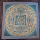 24 K Gold Original Signed Kale Ohm Thangka Thanka painting Nepal Art A13