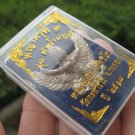 Metal Garuda Bird Amulet Good luck figure Thailand Snake Bite Protection ER478