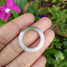 Natural Jadeite Jade ring Thailand jewelry stone mineral size  7.75 US  EB 066
