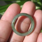 Natural Jadeite Jade ring Thailand jewelry stone mineral size 7.25 US  EA 093