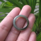 Natural Jadeite Jade ring Thailand jewelry stone mineral size  7 US   E 59135