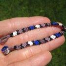 Huichol Bead Indian Bracelet Jewelry Art Hand Made Guadalajara Mexico A35