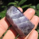 Natural Amethyst crystal stone mineral point A27