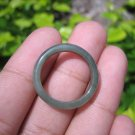 Natural Jadeite Jade ring Thailand jewelry stone mineral size  7.5 US   E 59174