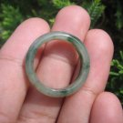 Natural Jadeite Jade ring Thailand jewelry stone mineral size 7.25 US  EB 019