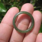 Natural Jadeite Jade ring Thailand jewelry stone mineral size  7.25 US  EB 043