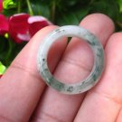 Large Natural Jadeite Jade Ring Thailand Jewelry Art Size 6.75 EB 428