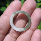 Natural Jadeite Jade ring Thailand jewelry stone mineral size 7.25 US  EA 050