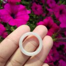 Natural Jadeite Jade ring Thailand jewelry stone mineral size  6.5 US  EB 055