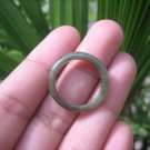 Natural Jadeite Jade ring Thailand jewelry stone mineral size  7 US   E 59134
