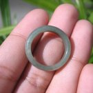 Natural Jadeite Jade ring Thailand jewelry stone mineral size  7 US  EA 031