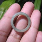 Natural Jadeite Jade ring Thailand jewelry stone mineral size  7 US   E 59188