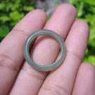 Natural Jadeite Jade ring Thailand jewelry stone mineral size  7 US   E 59173