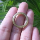 Natural Jadeite Jade ring Thailand jewelry stone mineral size  7 US   E 59144