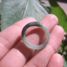 Natural Jadeite Jade ring Thailand jewelry stone mineral size  7 US   E 59102