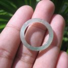 Natural Jadeite Jade ring Thailand jewelry stone mineral size  7 US   E 59168