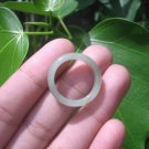 Natural Jadeite Jade ring Thailand jewelry stone mineral size 7 US   E 5983