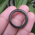 Natural Jadeite Jade ring Thailand jewelry stone mineral size 7 US  EA 013