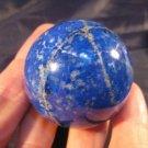 Blue Afghanistan Lapis Lazul Lazuli Crystal Ball  A