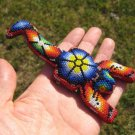 Huichol Bead Indian Scorpion Art Hand Made Mexico A38