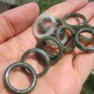 Set 11 ( lot ) Natural Jade ring Thailand jewelry stone size US 6.5  6.75 7