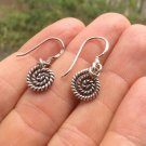 999 pure Silver leaf earrings earring jewelry art thailand hill tribe A13